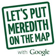 Let's put Meredith on the map with Google